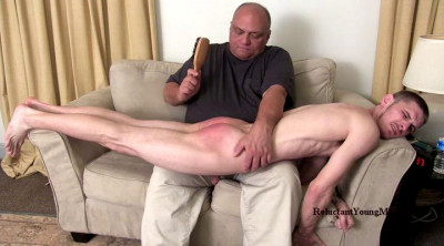 Reluctant Young Men - Gets Spanked
