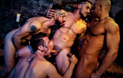 Rough Gangbang At Hell