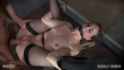 Sierra Cirque In Her Fancy Stockings And Sexy Heels Is Bound — HD 720p