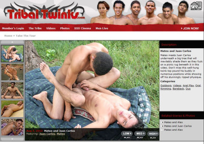 Tribal twinks hardcore action collection