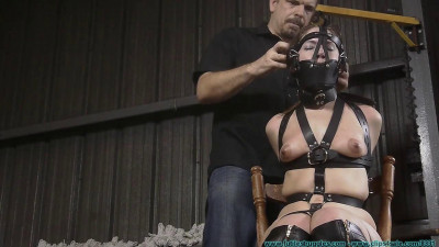 Tight Leather Bondage for Rachel Part One (2017)