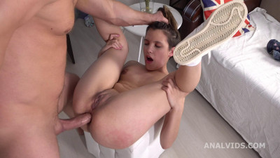 Anal Casting Abby welcome to Porn with Balls Deep Anal - Full HD 1080p