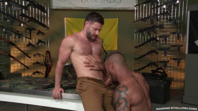 Description Gun ShowScene #2: Daymin Voss, Tristan Jaxx