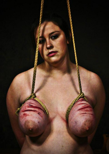 Wench Strung Up Tits POV