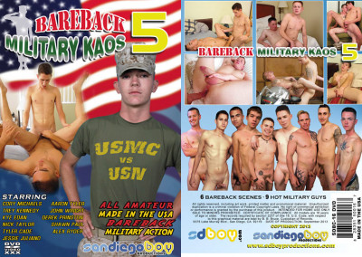 San Diego Boy Productions – Bareback Military Kaos Vol.5 (2013)