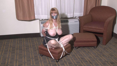 Big-Boobed Silky-Slip Bondage For Lorelei