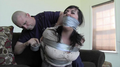 Dixie Comet-You have me taped tight and so horny, I am going to cum!