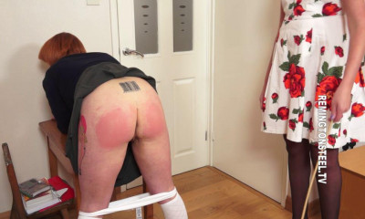 Remingtonsteel – Schoolgirl Imogen has received on punishment today