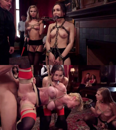 Bondage, strappado, domination and torture for sexy girls
