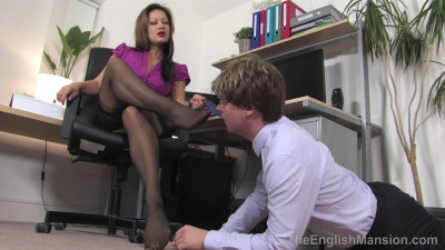 The English Mansion — Demanding Lady Boss — Domination HD