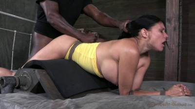 44 year old super Cougar Sheila Marie is rope bound