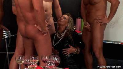 Christina Lee The Days of Wine and Urine — Peeing HD