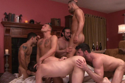 Description My First Gangbang With Many Big Dicks