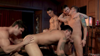 FS - The Pledge: Group Sex Bareback