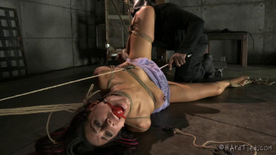 Lyla Storm is the kind of girl that struggles and squirms against her bondage.
