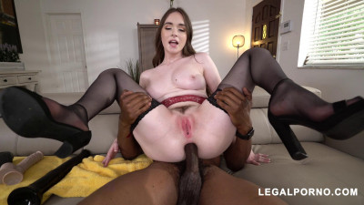 Hazel Moore – Perfect Gaping Anal cream Pie from this American Slut