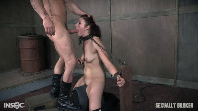 Stephie Staar getting fucked out of her. Boundage, rough sex deepthroating (2017)