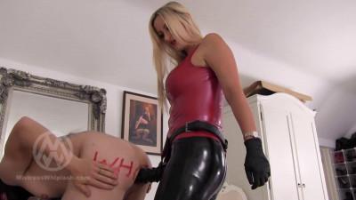 Mistress Nikki Whiplash - Pegging - Knobbled By Nikki WL1479