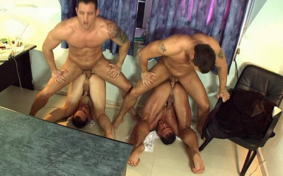 Fucked By The Boss With Gangbang