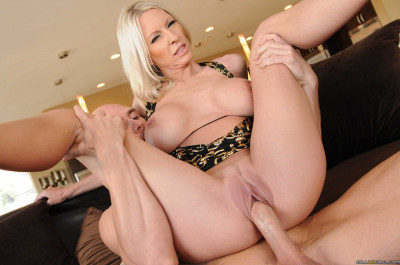 Busty Blonde Milf Has To Plan His Party