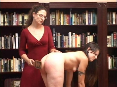 Panties Gives Way To Bare Bottom Discipline And Then More Spanking