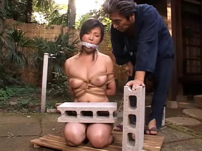 Humilation, bondage and enema