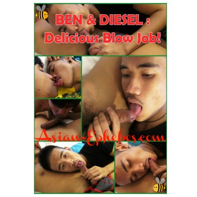 AE 104 - Ben & Diesel - Delicious Blow Job! FHD
