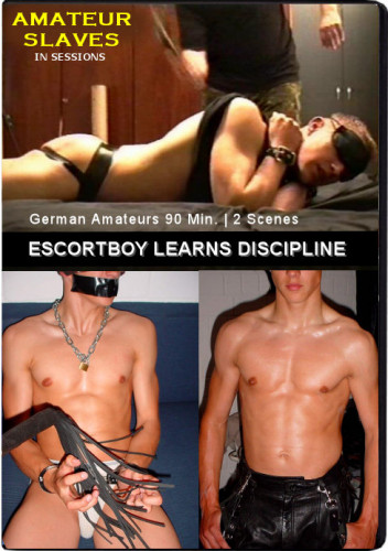 Escortboy learns Discipline DVD