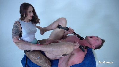 Life As Slave For Akira Shell Part 3 -  Brutal Cum Drain Life