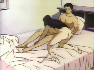online romance (Gin no Otoko).