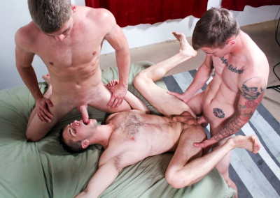 Ryan Jordan, Donte Thick & Blaine Jameson