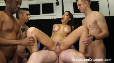 Creampie Orgy For Beauty Babe Gia Milana
