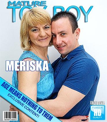 Meriska B — Kinky mature lady fucking and sucking FullHD 1080p