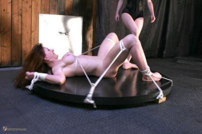 Catherine de Sade Bound & Spinning