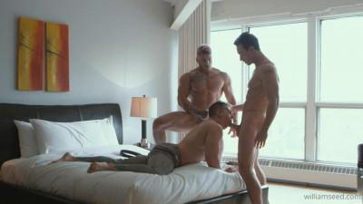 Hot trio – Cade fucks William and Ace