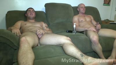 Rick & Brennan Naked Wrestling