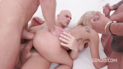Veronica Leal – Assfucked 4on1 & Double Penetrated