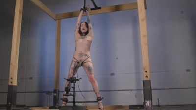 Fragileslave - Krysta Standing and Spread.