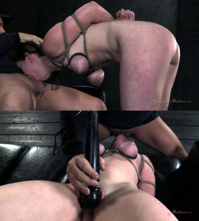 Super bondage, torture and domination for sexy brunette part 2