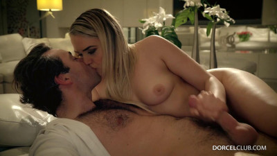 Hot blonde with her lover