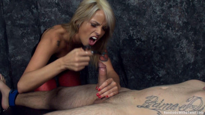 Mistress Violet — Clawed Teased and Stroked — Full HD 1080p