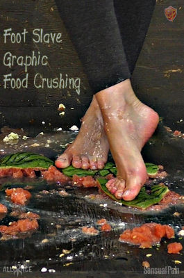 Foot Slave Graphic Food Crushing – Abigail Dupree – Full HD 1080p