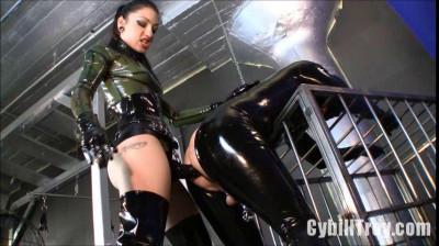 Cybill Troy - Rubber Sodomy Gimp