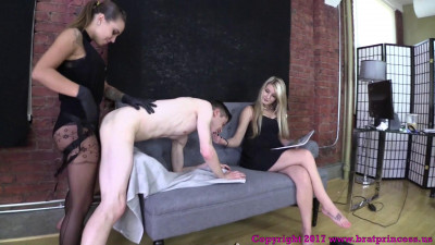 Danni Bent Over and Fucked for Not Following the Rules