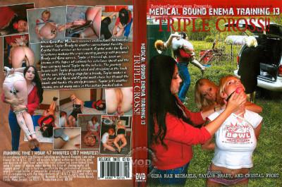 Medical Bound Enema Training Vol. 13 – Triple Cross