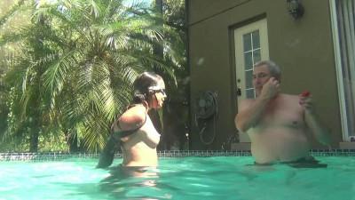 Lew Rubens - Bound Lexi Fetish Mermaid