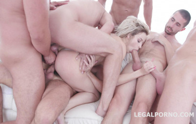 Description 6on1 Double Anal Orgy With First Triple Fuck