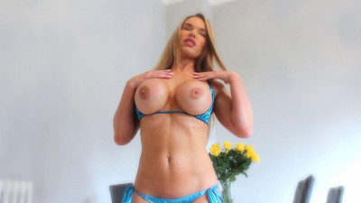 Misstiff joi to my huge fake tits