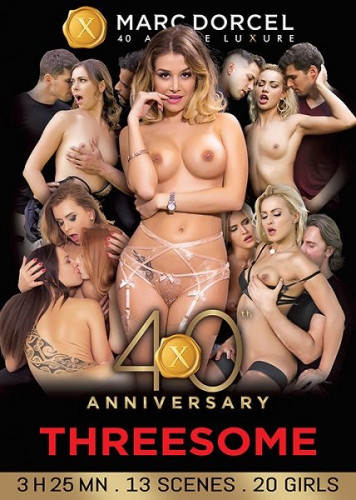 Description Marc Dorcel 40th Anniversary: Threesomes