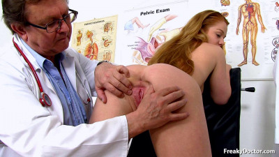 Description Alex Ginger (18 years girls gyno exam)